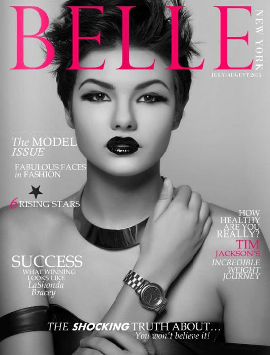 BELLE NY Mag Cover